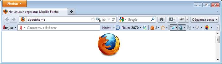 Устанавливаем Яндекс Бар для браузера Mozilla Firefox
