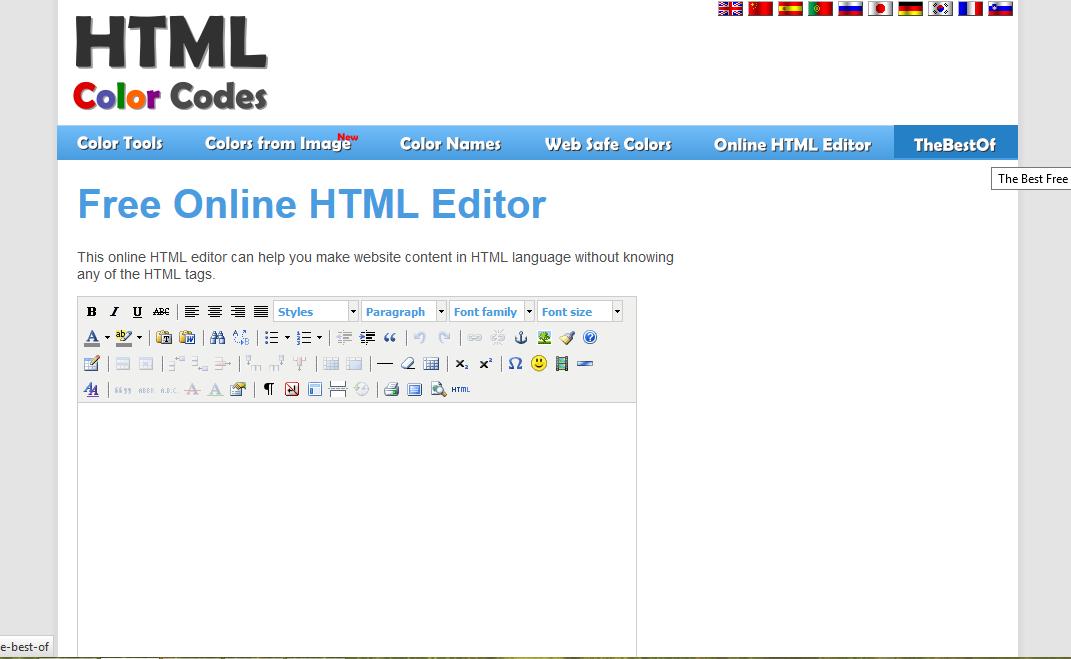 создания сайта в html в картинках