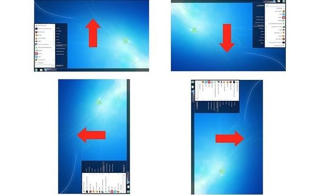 как повернуть изображение на мониторе: