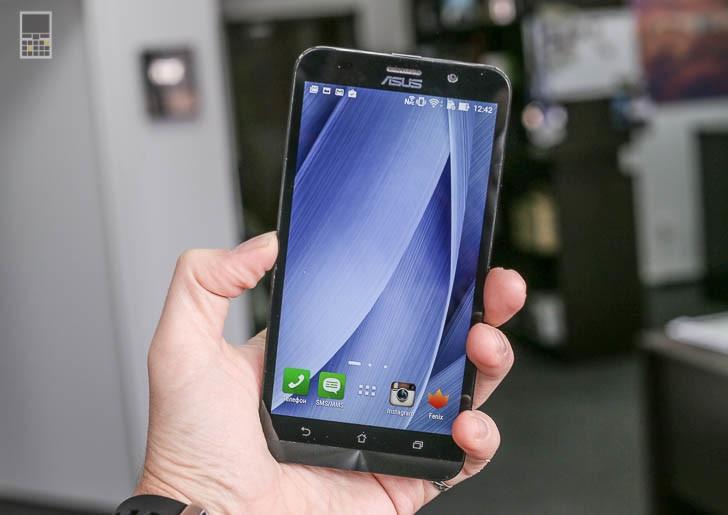 Делаем скриншот на смартфоне Asus Zenfone 2